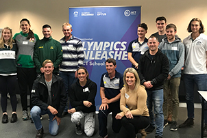 Canberra students get ready to unleash your Olympic potential.