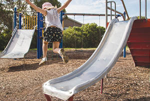 Canberra children and their families are benefiting from an extensive program of improvements to suburban play spaces.