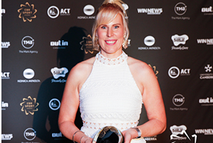 Four-time world champion in rowing Kathryn Ross was named Athlete of the Year – Para Sport.