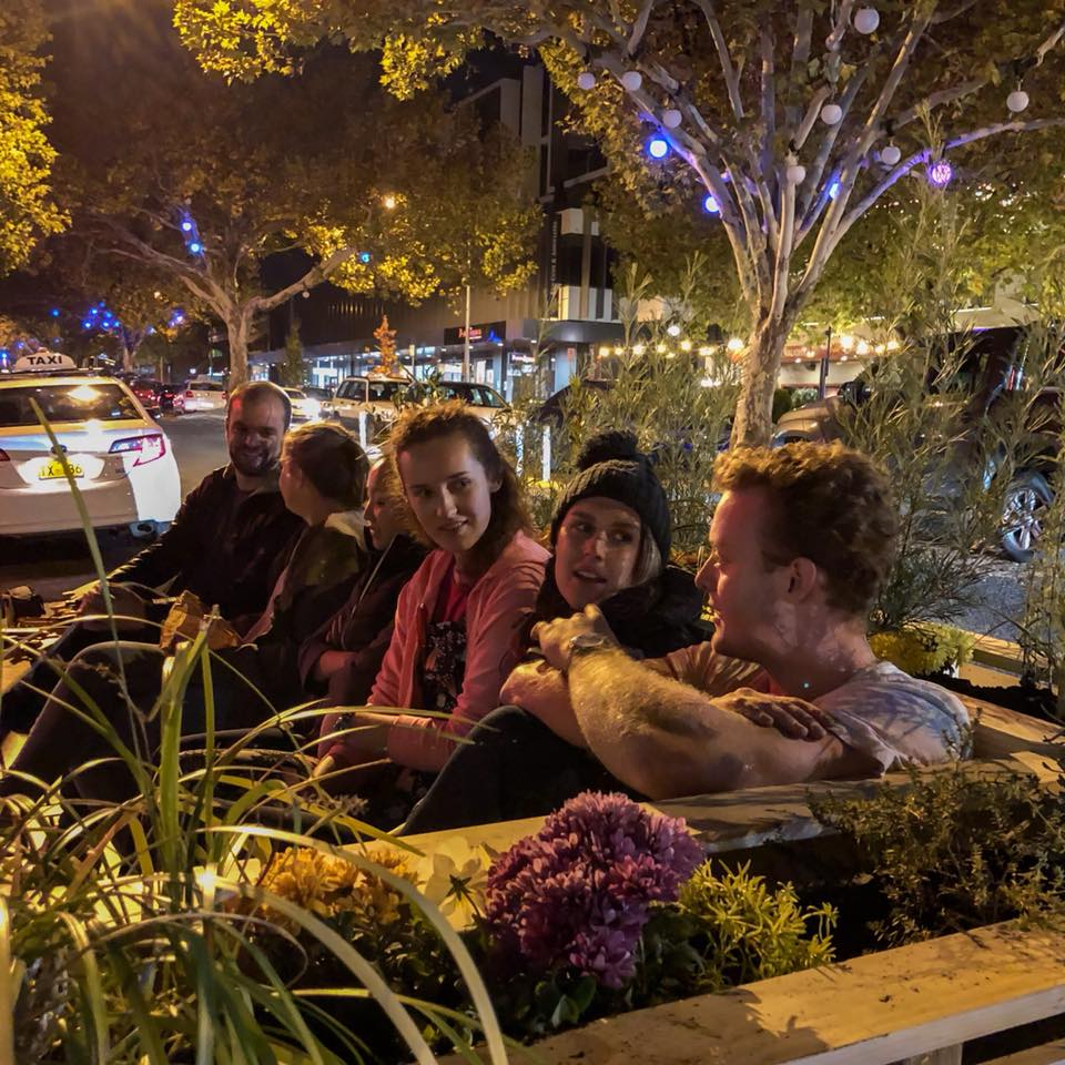 Pocket Park is a new temporary public space on Lonsdale Street in Braddon.