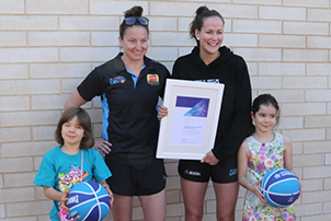 University of Canberra Capitals awarded for Canberra Citizen of the year