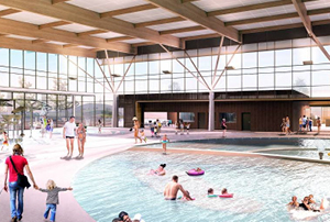 The new Stromlo Leisure Centre in Canberra's south is on track to be completed in mid-2020.