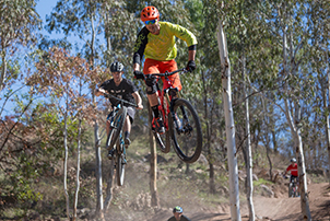 Riders at Mt Stromlo