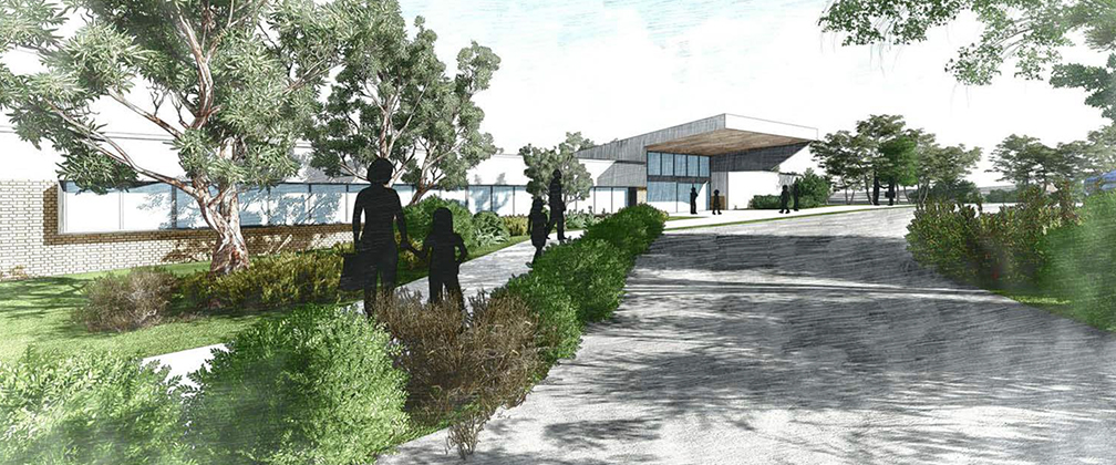 An artist's impression of the new Margaret Hendry School in North Gungahlin