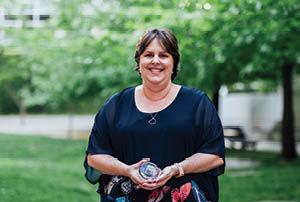 Amaroo School Teacher Librarian Natalie Otten.