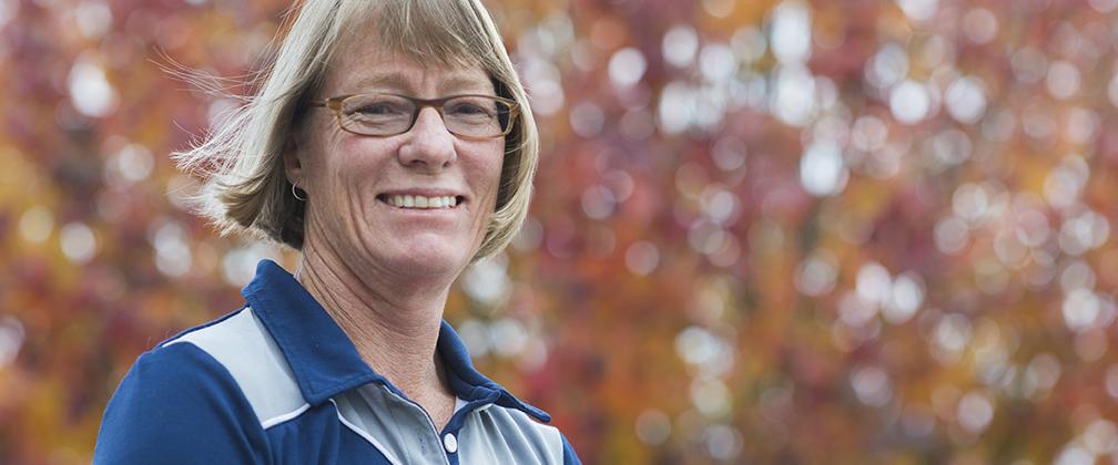 Athlete Sue Powell