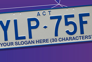 ACT numberplates