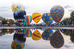 Balloon Spectacular on Canberra Day