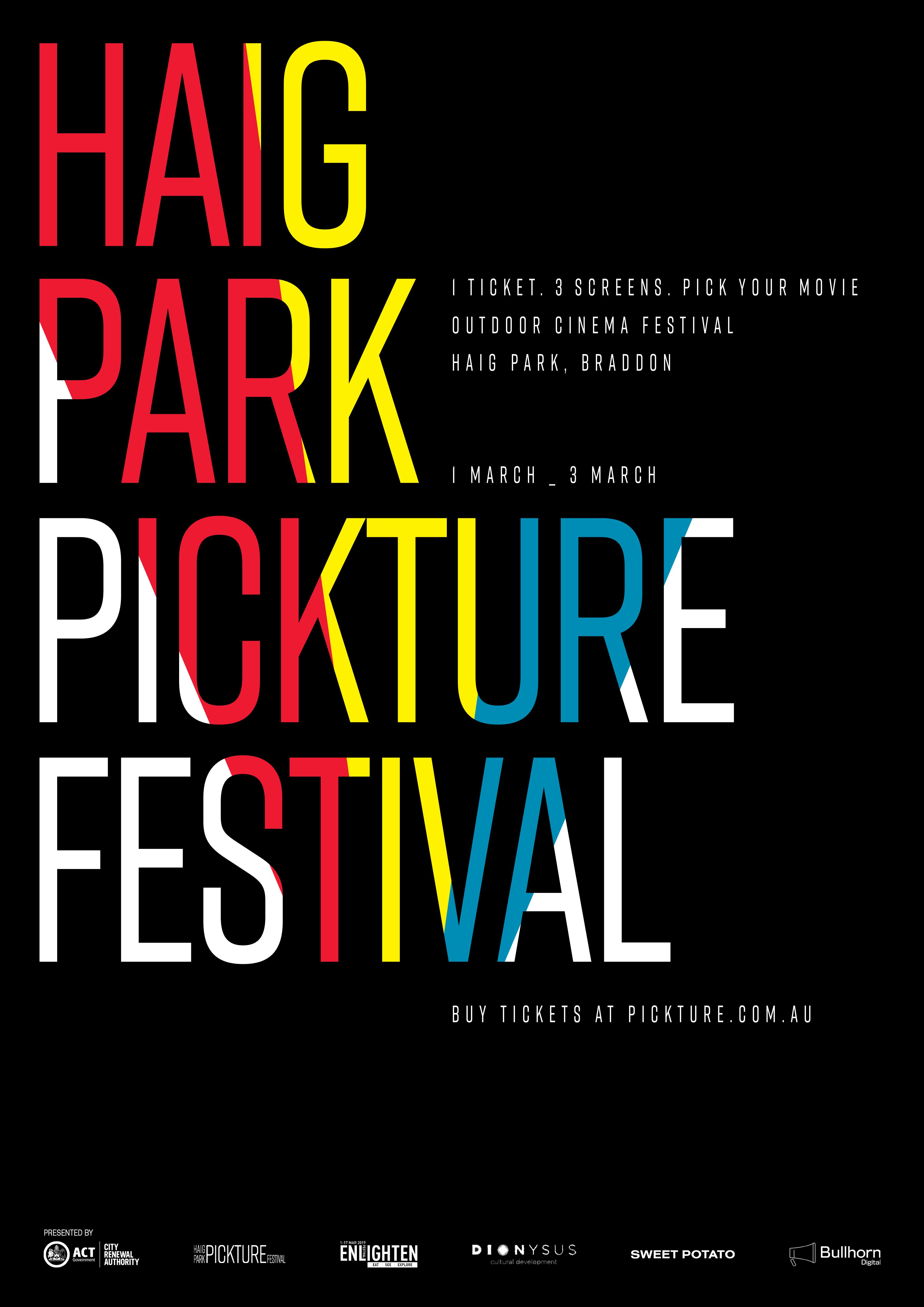 haig park festival poster