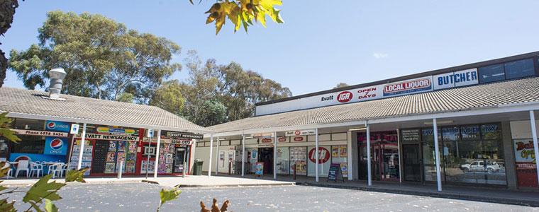 Evatt shops