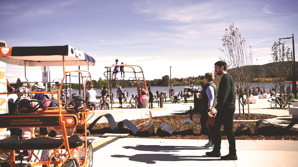 Henry Rolland Park Opening, 2018
