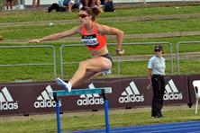 Athlete Lauren Wells