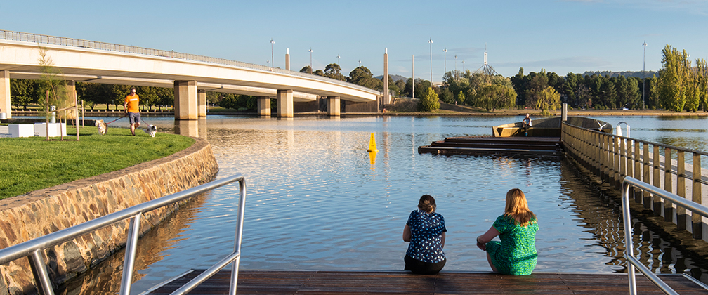 Improving water quality in Lake Burley Griffin.