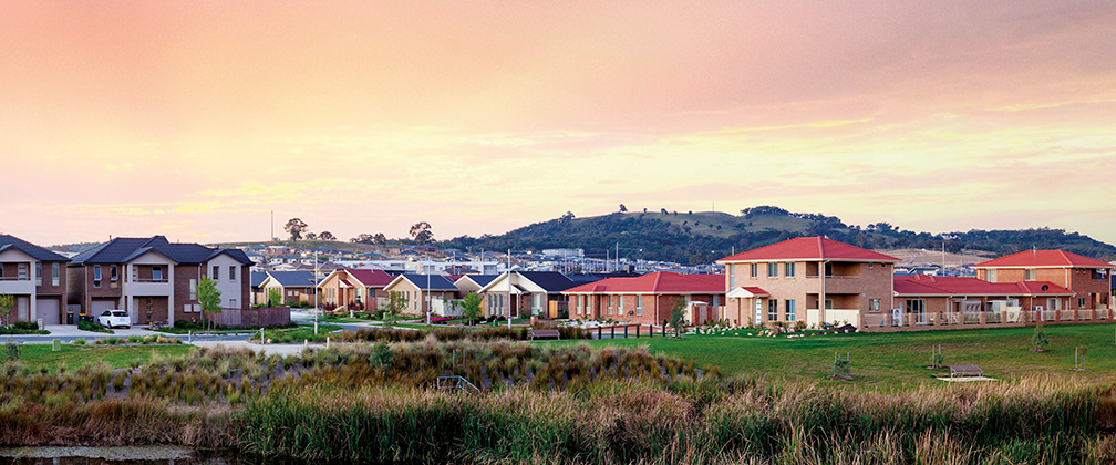 Homes in Canberra.