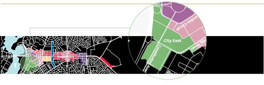 City East Precinct Map