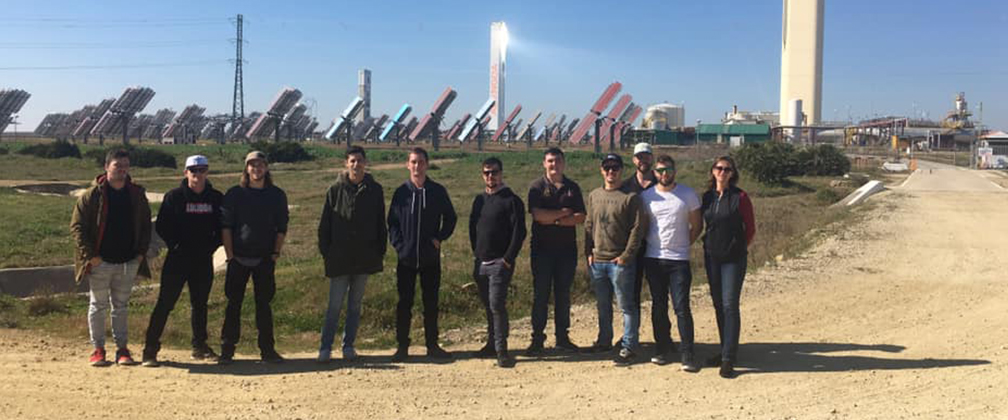 CIT students on an international renewables tour