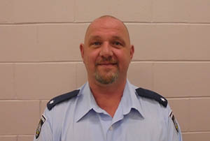 Jason Stockheim, ACT Corrective Services staff member.