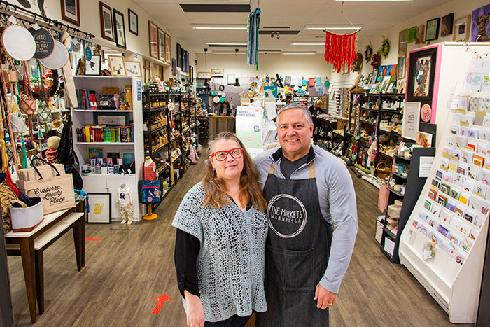 Local business owners