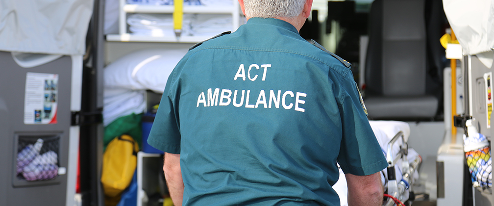 Picture of ACT Ambulance male
