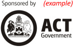 Sponsored by ACT Government
