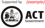 Supported by ACT Government