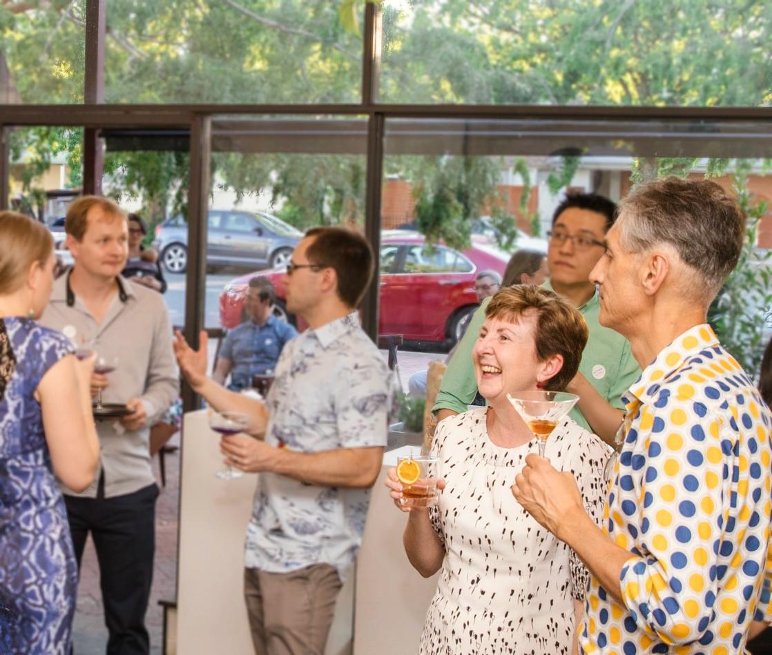 People enjoying altina drinks