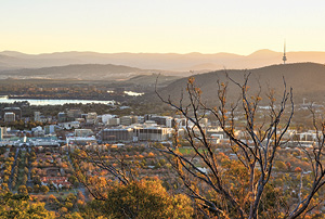 The city of Canberra.