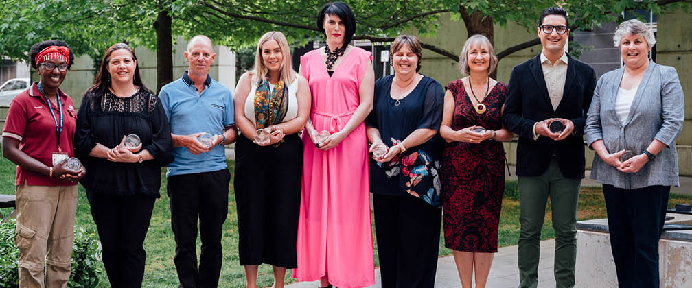 The ACT Public Education Award winners for 2019.